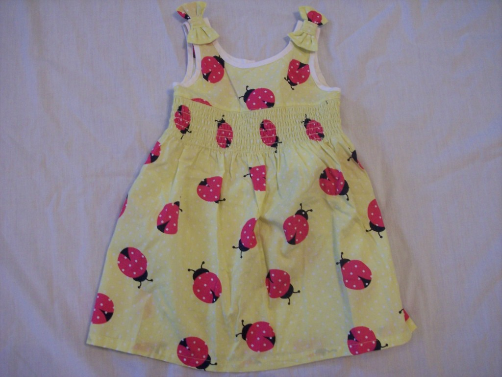 ladybug baby dress