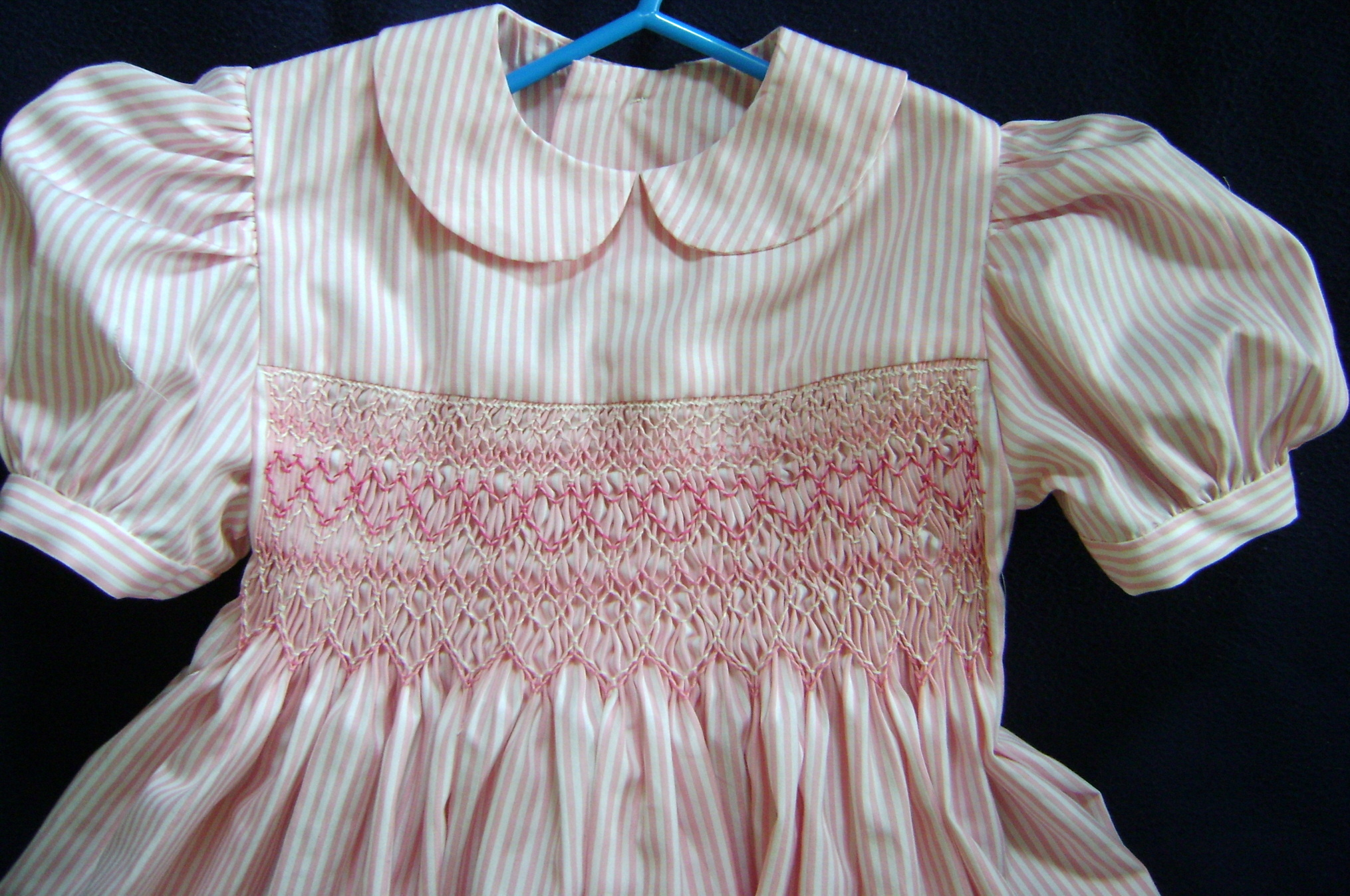 Children S Smocked Clothing Girl Gloss