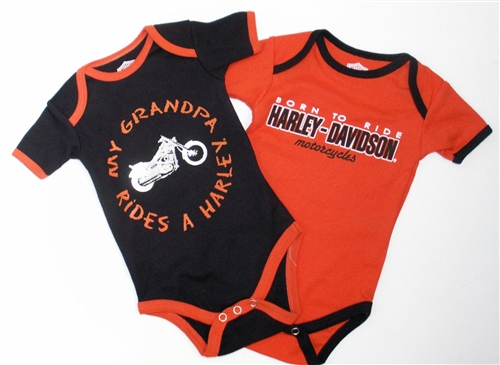 Harley Davidson Infant Clothing Girl Gloss