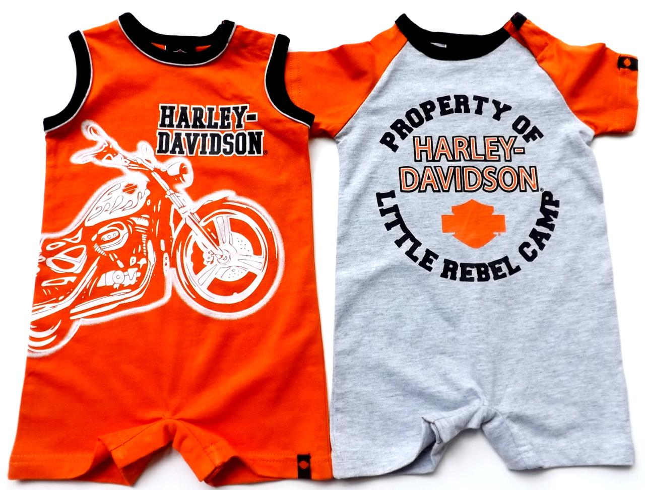 Harley Davidson Infant Clothing Girl Gloss