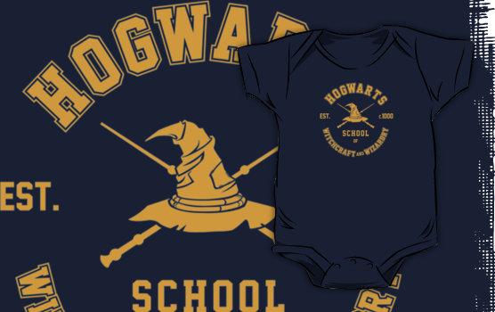 Harry Potter Hogworts Baby Clothes