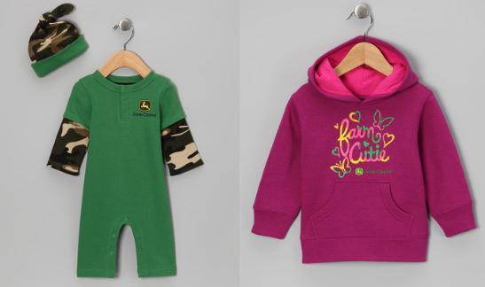 John Deere baby clothes