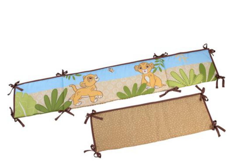 lion kin crib bumpers