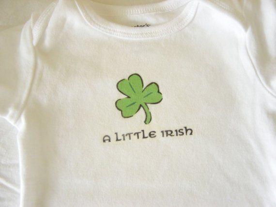 A little Irish baby T Shirt