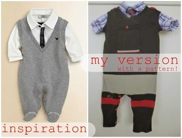 sweater vest for baby