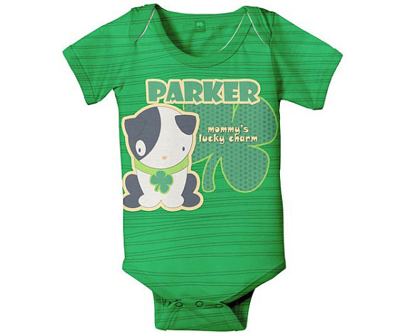 Irish baby onesie