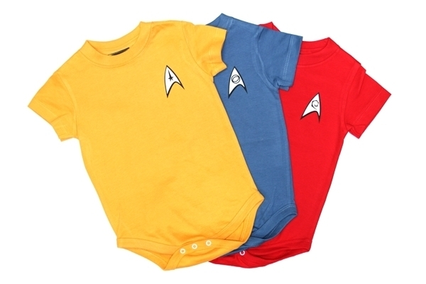 star trek baby uniforms