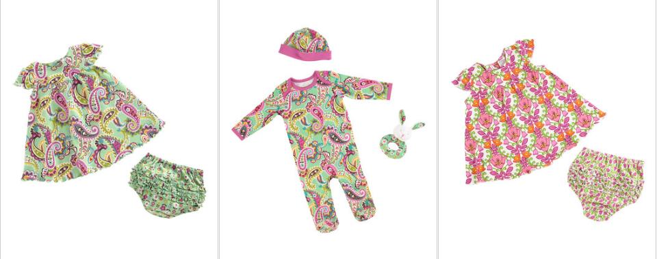 vera bradley baby clothing