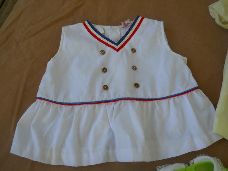 vintage baby sailor dress