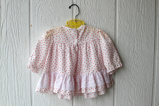 vintage baby outfit