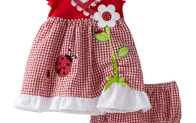 ladybug children's dress