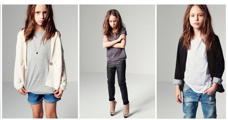 Zara Kids Clothing Girl Gloss
