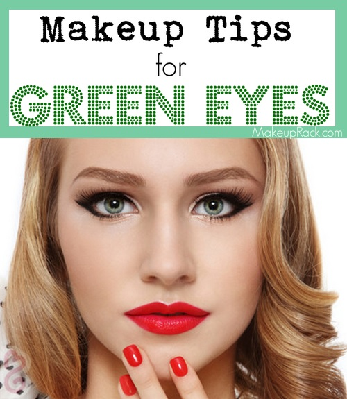 Best color makeup for green eyes