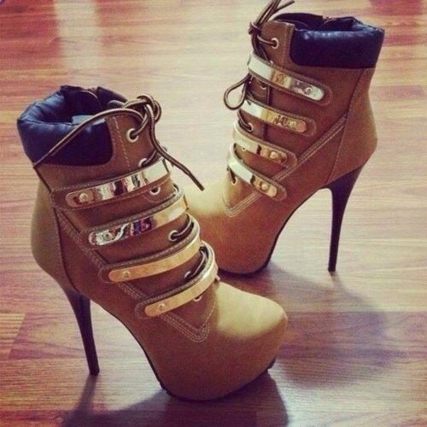 Timberland High Heel Boots latest