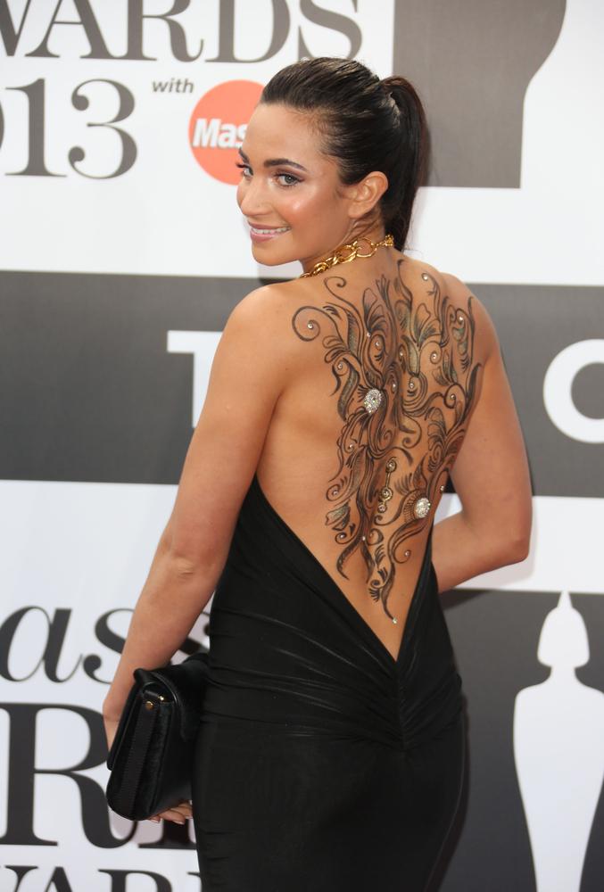 Laura Wright Tattoo Girl Gloss