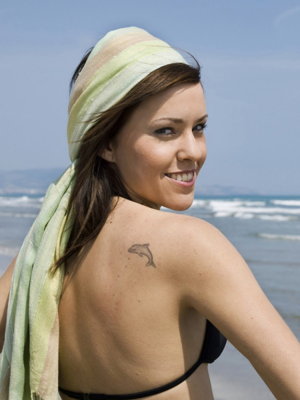 dolphin tattoo art