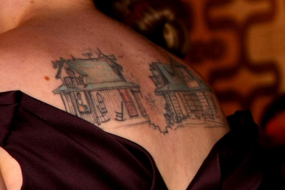 lena dunham tattoos