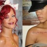 Rihanna's Tattoos Meanings