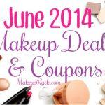 June 2014 Makeup Coupons