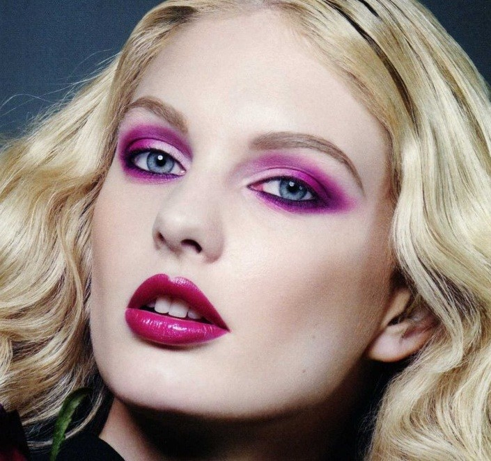 2014 pink eyeshadow makeup