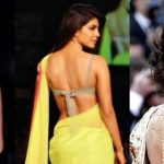 Dress in Backless Saree Blouse This Wedding Season