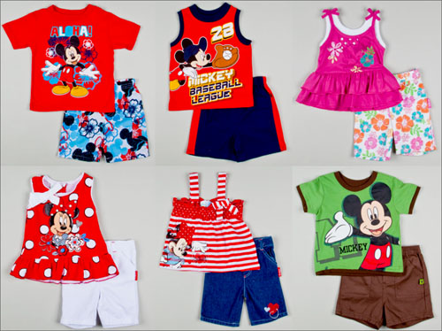 Celebrity infant clothes