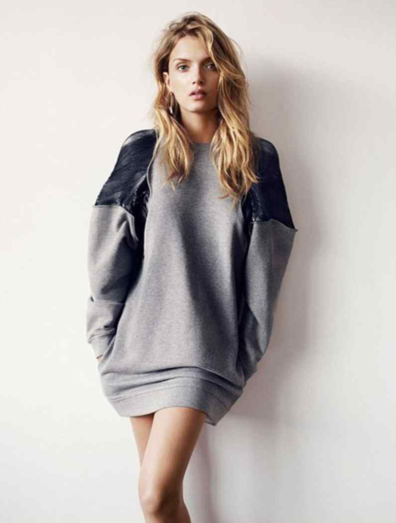 Winter Sweater Trend 2013 For Girls The Sweater Dress
