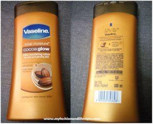 Vaseline Cocoa Glow Nourishing Body Lotion Review