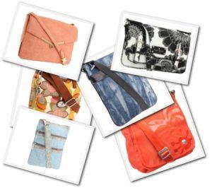 Six Trendy Cross Body Bags
