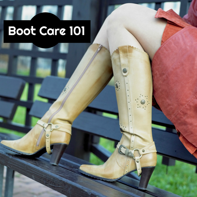 how to care for leather boots