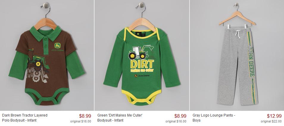 John Deere Kid S Clothes Girl Gloss
