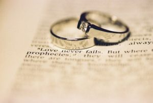 Four Different Types of Wedding Rings