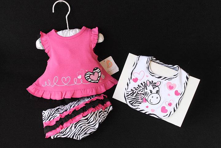 zebra baby clothes