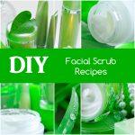DIY Facial Scrub Recipes