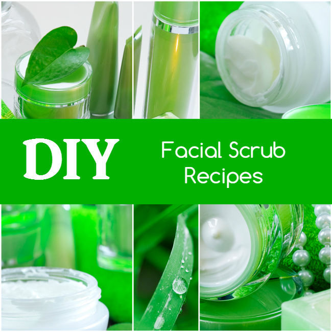 diy facial scrub recipes