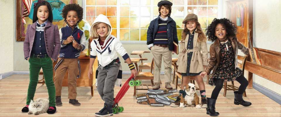 Celebrity kids clothes stores
