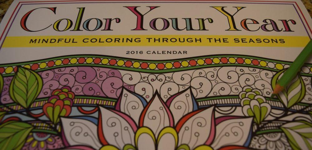 Coloring Calendar