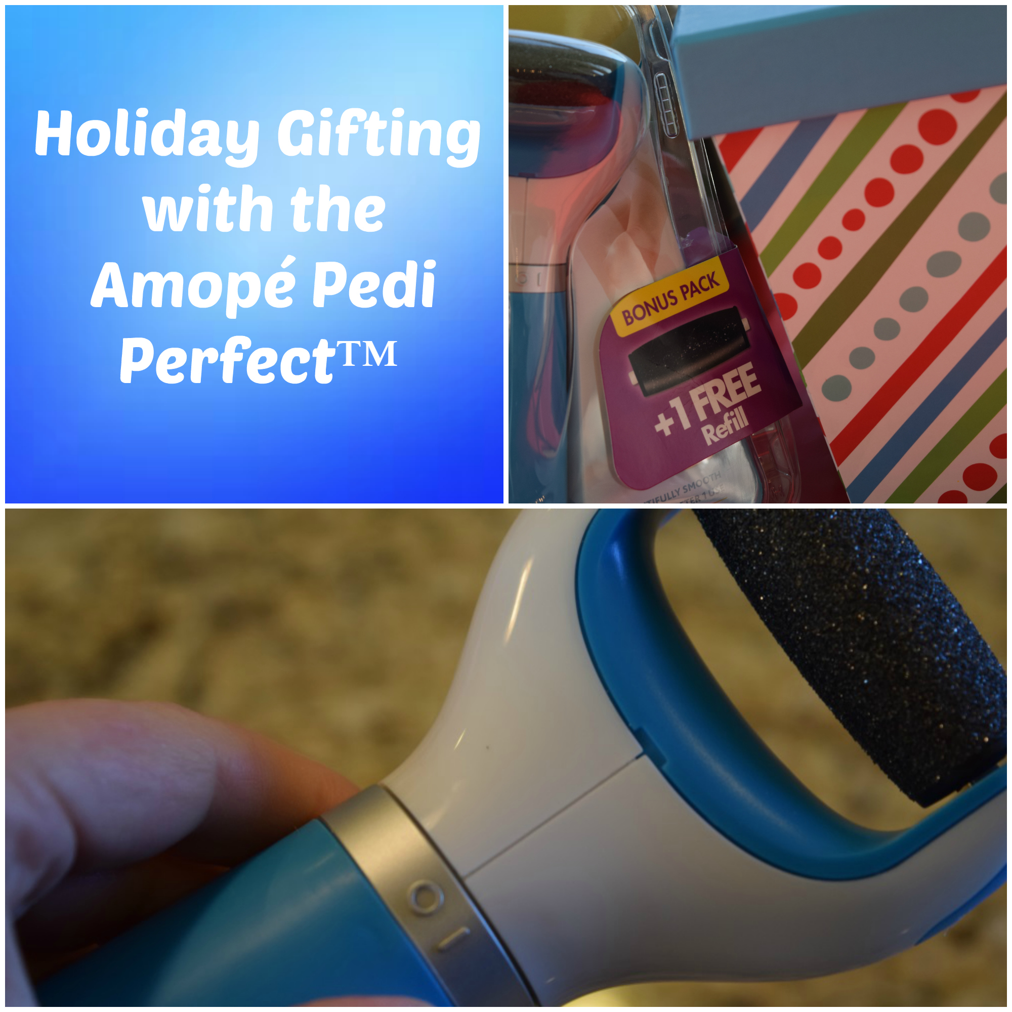 Amope holiday gifting pedi perfect