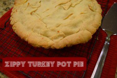 Zippy Turkey Pot Pie From the Kraft Hub