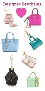 Super Cute Designer Bag Keychains